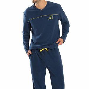 Pyjamas polaire homme achat vente pyjamas polaire homme pas cher cdiscount for Peignoir eponge homme pas cher