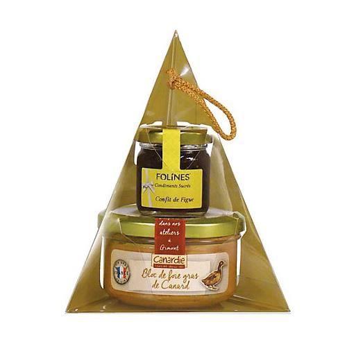 coffret duo canardie bloc de foie gras de canard achat vente foie gras coffret duo canardie. Black Bedroom Furniture Sets. Home Design Ideas