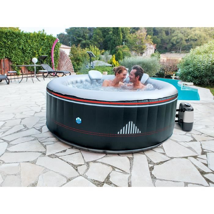 Spa gonflable netspa montana 6 personnes achat vente pataugeoire cdiscount - Spa gonflable 6 personnes ...
