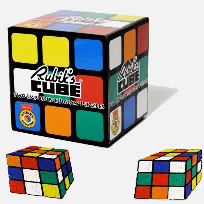 lot de deux puzzles rubik 39 s cube achat vente puzzle. Black Bedroom Furniture Sets. Home Design Ideas