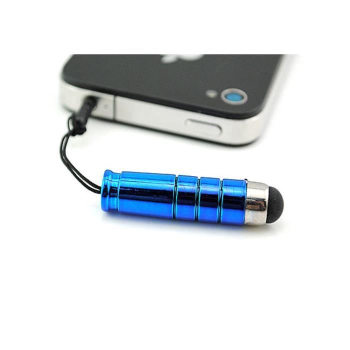 mini stylet ecran tactile wiko slide bleu achat stylet. Black Bedroom Furniture Sets. Home Design Ideas