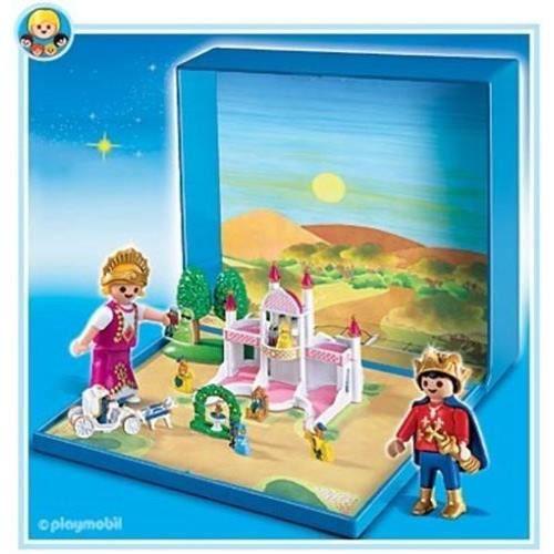playmobil micro aimante chateau avec princesse et prince 4330 achat vente univers. Black Bedroom Furniture Sets. Home Design Ideas