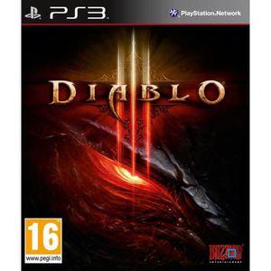 JEU PS3 Diablo 3 Jeu PS3