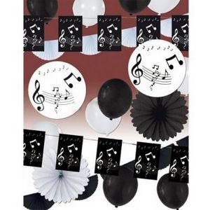 deco theme musique achat vente deco theme musique pas cher cdiscount. Black Bedroom Furniture Sets. Home Design Ideas