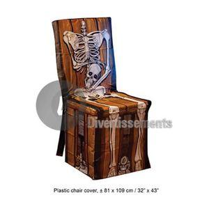 Housse de chaise plastique achat vente pas cher soldes cdiscount - Housse de chaise plastique ...