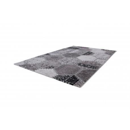 TAPIS Tapis argenté pour salon en acrylique Molte - 160x