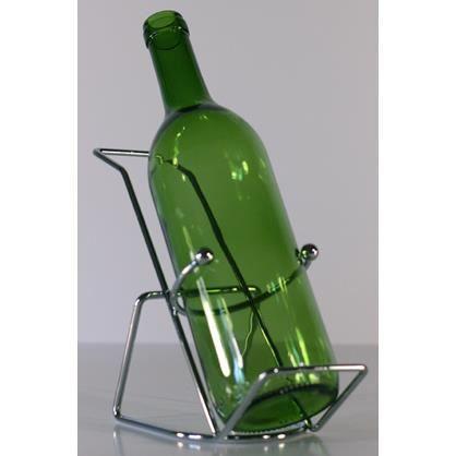 support inox pour une bouteille de vin achat vente porte bouteille support inox pour une. Black Bedroom Furniture Sets. Home Design Ideas