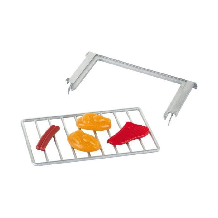Grille de cuisson avec glissi re et accessoires aille for Soldes accessoires cuisine