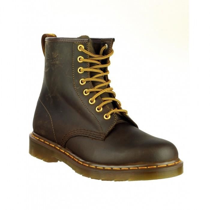 dr martens 1460z chaussures montantes homme marron. Black Bedroom Furniture Sets. Home Design Ideas