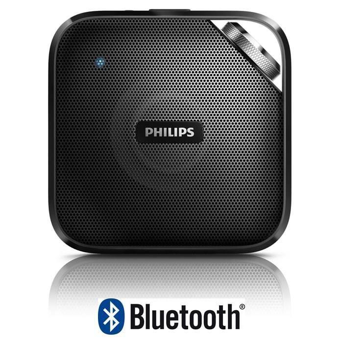 philips bt2500b enceinte bluetooth portable noir. Black Bedroom Furniture Sets. Home Design Ideas