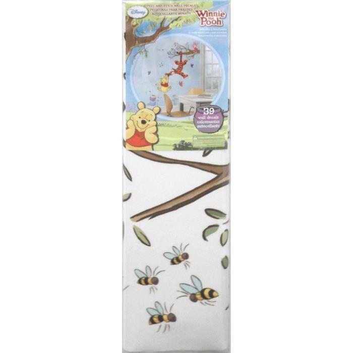 stickers stickers gant arbres magique winnie lourson disn - Chambre Winnie L Ourson