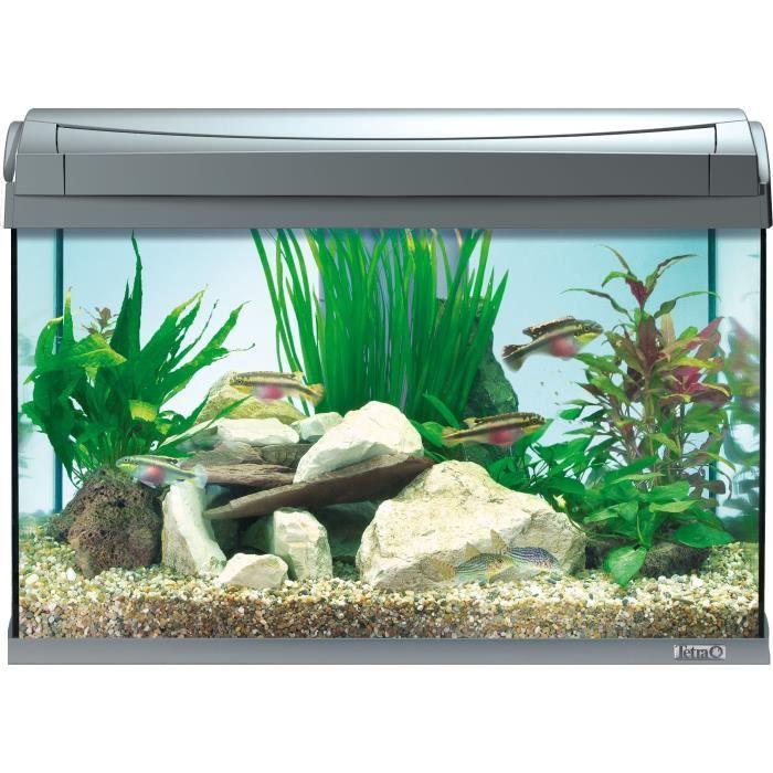 Tetra aquaart 60l anthracite achat vente chauffage for Poisson aquarium 60l