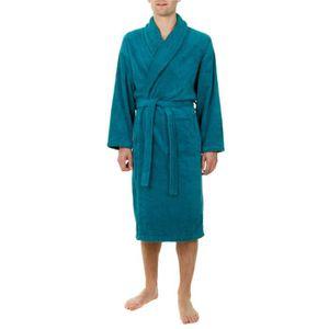 Sortie de bain homme eponge achat vente sortie de bain homme eponge pas cher soldes for Peignoir eponge homme