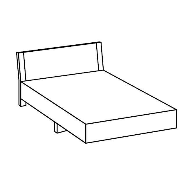 Ensemble chambre adulte coloris ch ne clair et blanc for Ensemble meuble chambre adulte