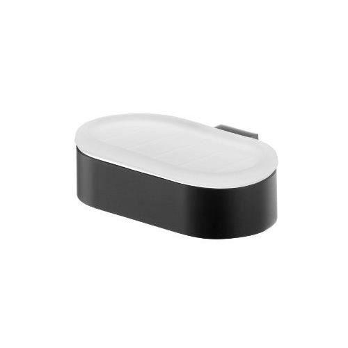 Bisk 02954 porte savon en verre givr futura avec support for Porte savon en verre