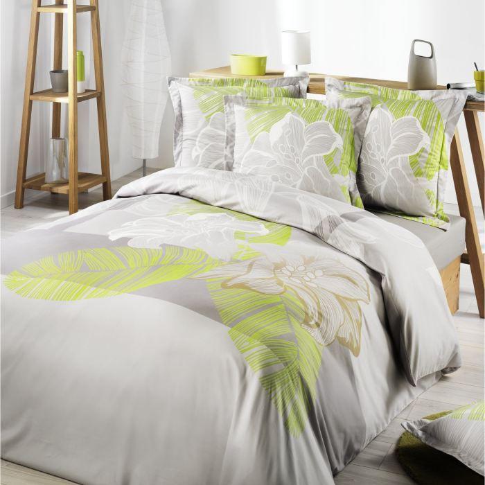 housse de couette 240x220 flower bay achat vente. Black Bedroom Furniture Sets. Home Design Ideas
