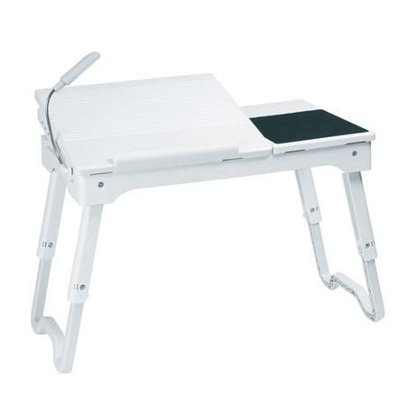 table d 39 ordinateur portable blanche table achat vente table d 39 ordinateur portable cdiscount. Black Bedroom Furniture Sets. Home Design Ideas