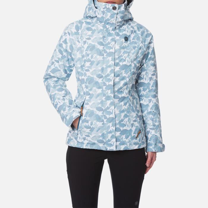veste femme anna ciel bleu achat vente manteau caban cdiscount. Black Bedroom Furniture Sets. Home Design Ideas