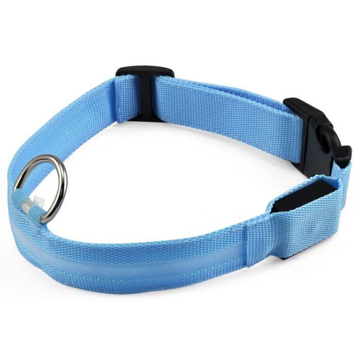 Achat / Vente collier Collier clignotant LED Blu