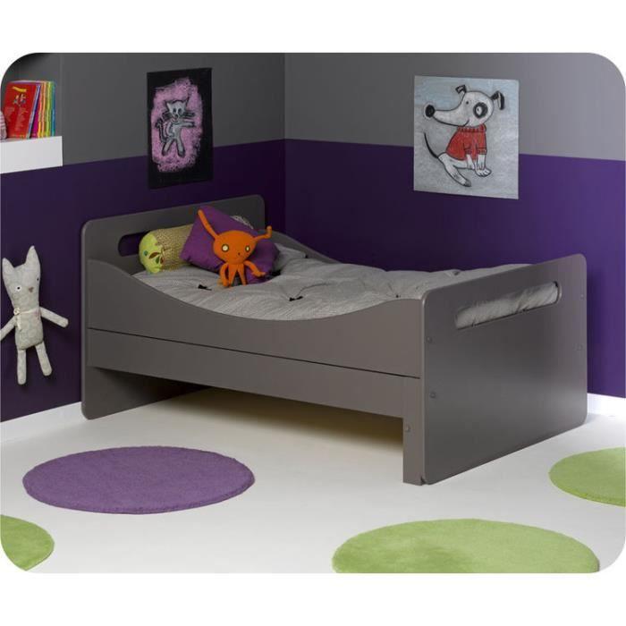Eb pack lit enfant volutif eden taupe avec m achat vente ensemble lit - C discount lit enfant ...