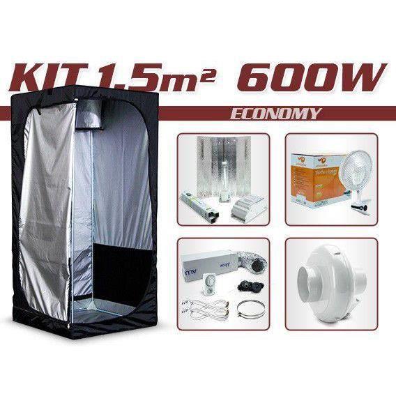 kit growshop complet avec box 1 5m 600w achat vente kit de culture kit growshop. Black Bedroom Furniture Sets. Home Design Ideas