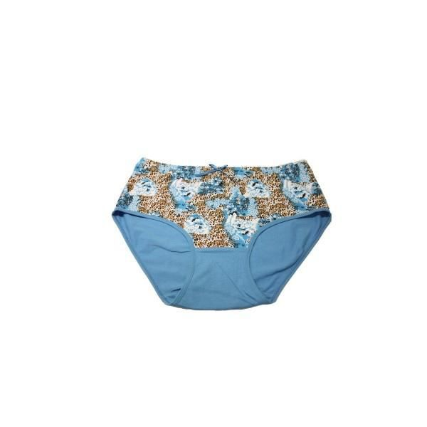 culotte coton femme grande taille bleu bleu achat vente culotte slip cdiscount. Black Bedroom Furniture Sets. Home Design Ideas