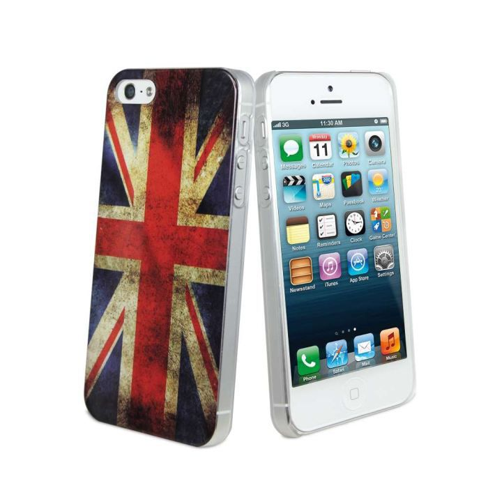 Coque housse iphone 5 muvit drapeau angleterre achat for Housse iphone 5 c