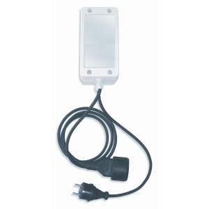 Coffret lectrique basic pour filtration de piscine hors for Coffret electrique exterieur jardin