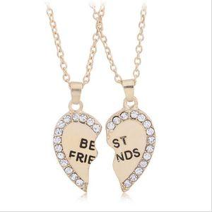 SAUTOIR ET COLLIER mold or argent Diamonds best friends Deux épiss...