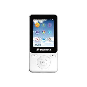 LECTEUR MP3 TRANSCEND TS8GMP710W LECTEUR MP3 AVEC RADIO BLANC