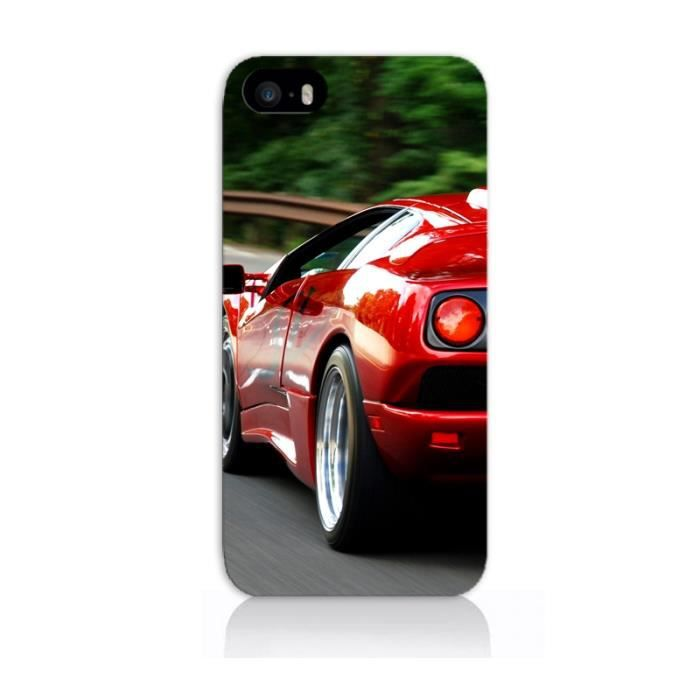 coque iphone 4 4s voiture rouge achat vente coque iphone 4 4s voitu cdiscount. Black Bedroom Furniture Sets. Home Design Ideas
