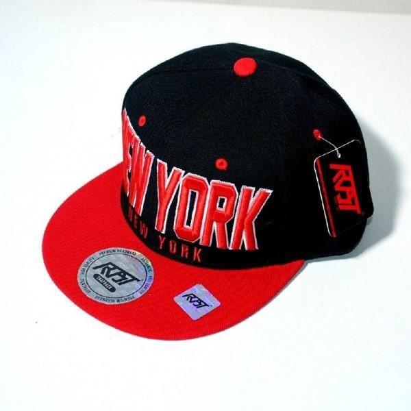 casquette new york rouge et noir achat vente casquette 9601121438546 cdiscount. Black Bedroom Furniture Sets. Home Design Ideas