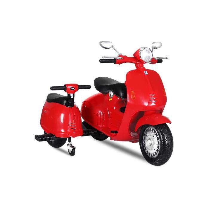 mini scooter lectrique pour enfant 2 si ges rouge achat vente moto scooter les soldes. Black Bedroom Furniture Sets. Home Design Ideas