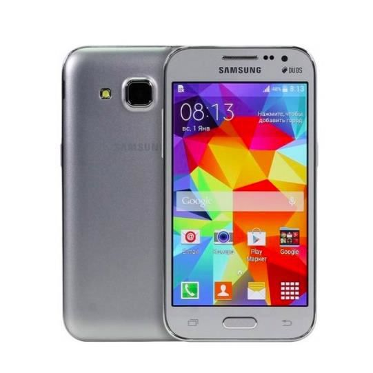 telephone portable samsung galaxy core prime lte g360 gris fonce achat smartphone pas cher. Black Bedroom Furniture Sets. Home Design Ideas