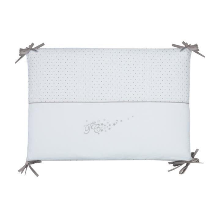 tour de lit pluie etoiles bleu ciel achat vente tour de lit b b 3607020313546 cadeaux de. Black Bedroom Furniture Sets. Home Design Ideas
