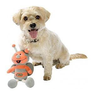 jouet pour chien abeille gris corail topzoo achat vente jouet jouet pour chien. Black Bedroom Furniture Sets. Home Design Ideas