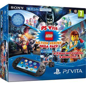 CONSOLE PS VITA Pack PS Vita + Carte mémoire 8 Go + Jeux LEGO Movi