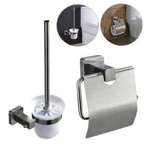 brosse toilettes et porte papier toilette wc achat vente brosse toilettes et porte papier. Black Bedroom Furniture Sets. Home Design Ideas