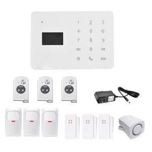 centrale alarme filaire achat vente centrale alarme filaire pas cher cdiscount. Black Bedroom Furniture Sets. Home Design Ideas