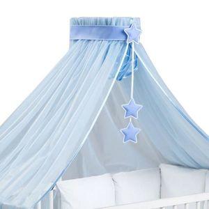 Rideaux ciel de lit chambre b b achat vente rideaux ciel de lit chambre b b pas cher - Ciel de lit bleu ...