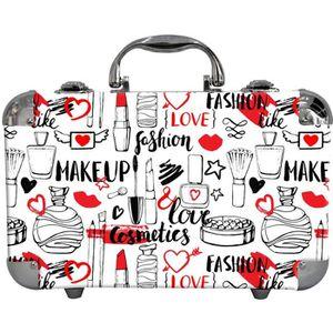 PALETTE DE MAQUILLAGE  Mallette de Maquillage Love 62pcs - Gloss