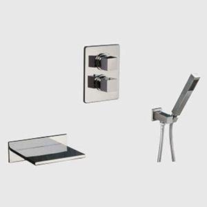 ensemble de douche murale achat vente ensemble de douche murale pas cher soldes cdiscount. Black Bedroom Furniture Sets. Home Design Ideas