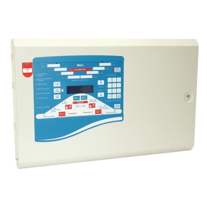 centrale d 39 alarme incendie 16 zones bali 16 achat vente alarme autonome cdiscount. Black Bedroom Furniture Sets. Home Design Ideas