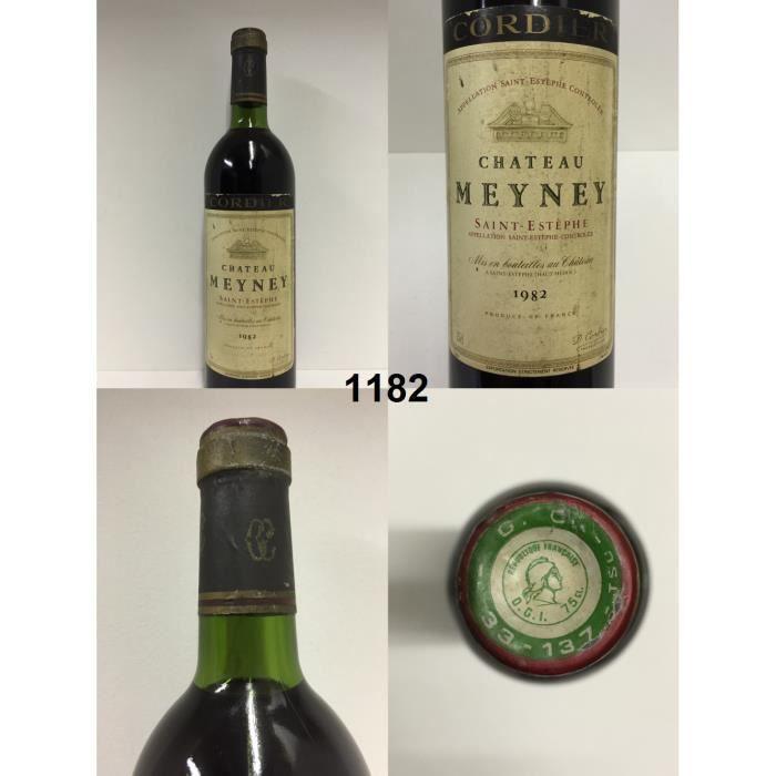 Ch teau meyney 1982 achat vente vin rouge ch teau for Chateau meyney