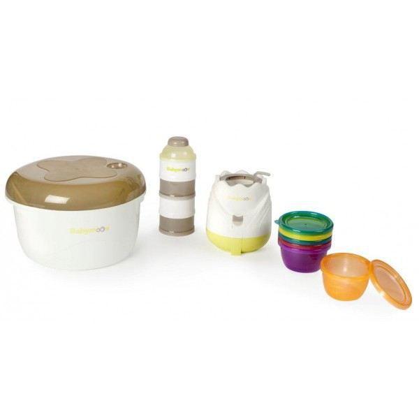 babymoov kit repas naissance zen blanc taupe et amande. Black Bedroom Furniture Sets. Home Design Ideas