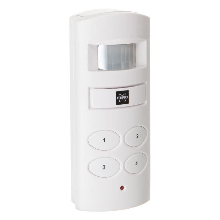 Elro mini alarme maison avec clavier achat vente for Alarme maison avec telesurveillance