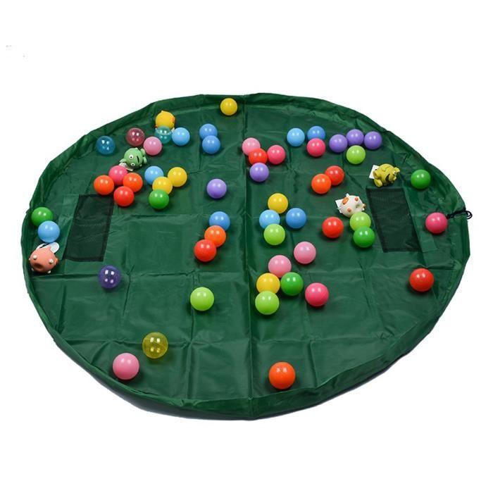sac de rangement jouet b b enfant play organisateur tapis de sol jouets sac de stockage. Black Bedroom Furniture Sets. Home Design Ideas