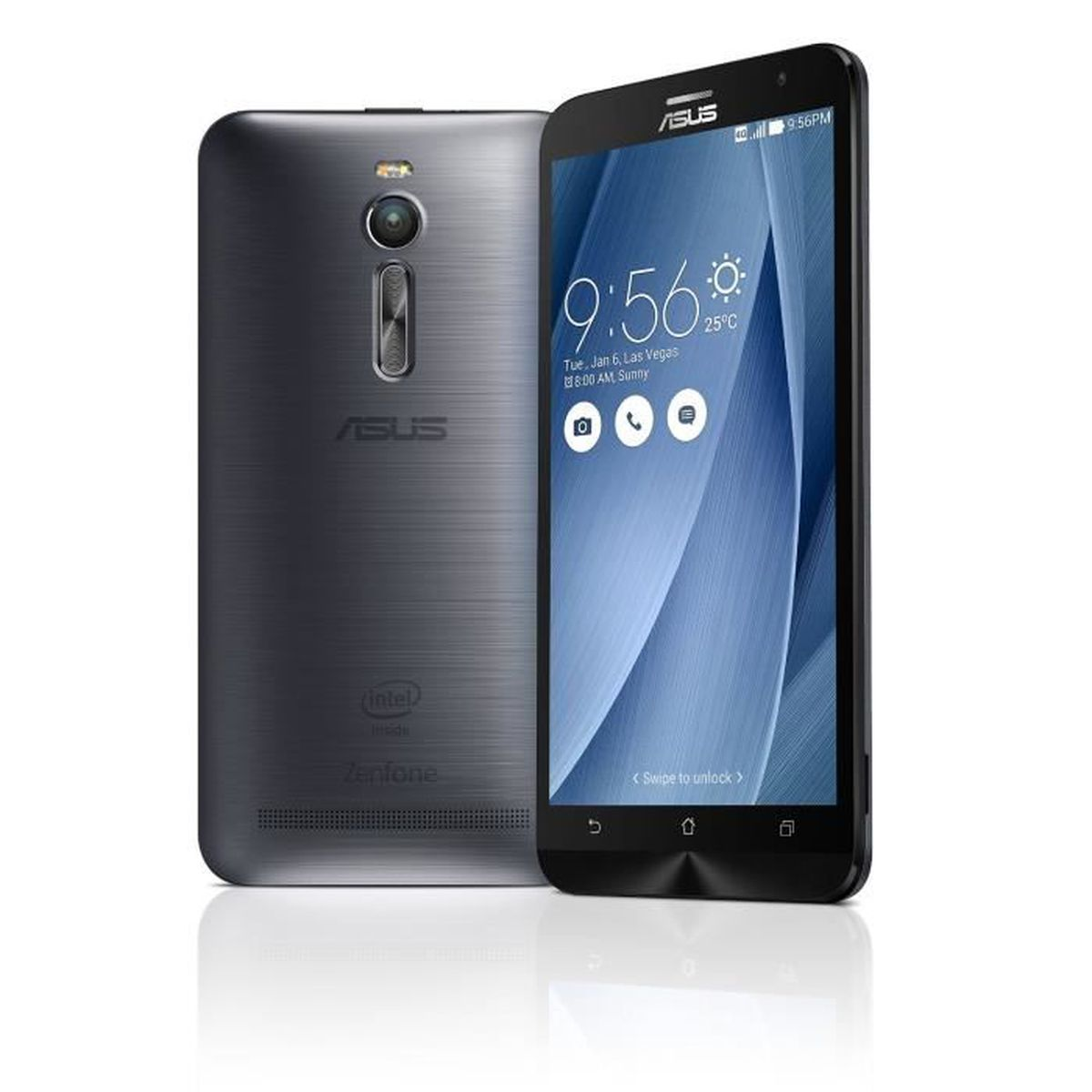 asus zenfone 2 ze551ml smartphone 4g ecran 5 5 pouces 4go 16go double sim android 5 0 lollipop. Black Bedroom Furniture Sets. Home Design Ideas