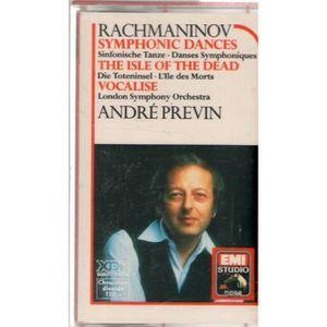 CD MUSIQUE CLASSIQUE RACHMANINOV SYMPHONIC DANCES PREVIN - Cassette aud