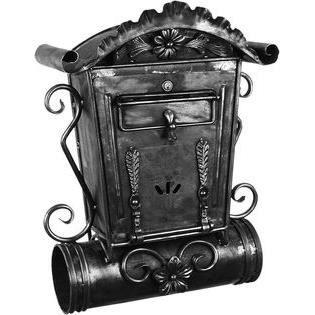 boite aux lettres fer forg achat vente boite aux lettres cdiscount. Black Bedroom Furniture Sets. Home Design Ideas